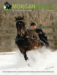 Jeff Morse on The Morgan Horse cover