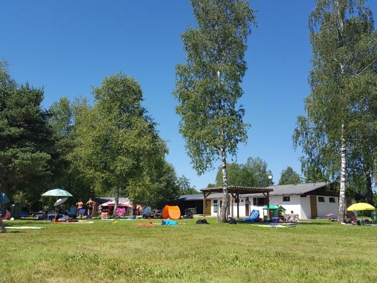 Badeplatz in Perwang / Grabensee