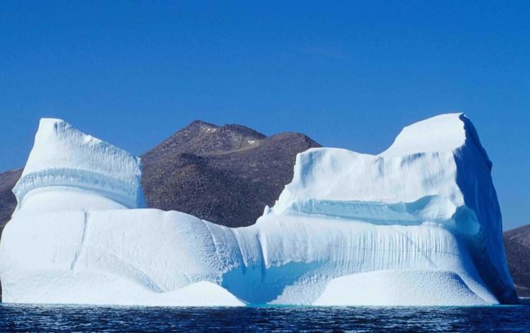 Eisberg vor Qikiqtarjuaq (Davis Strait)
