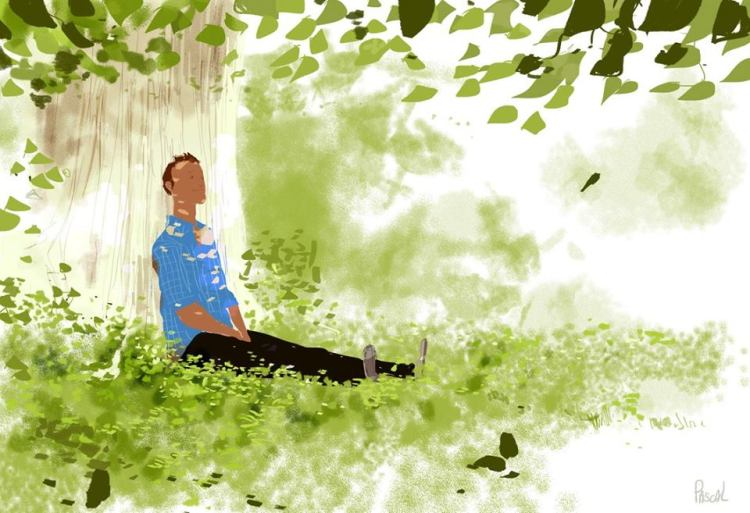 Lunch brake in July, by Pascal Campion