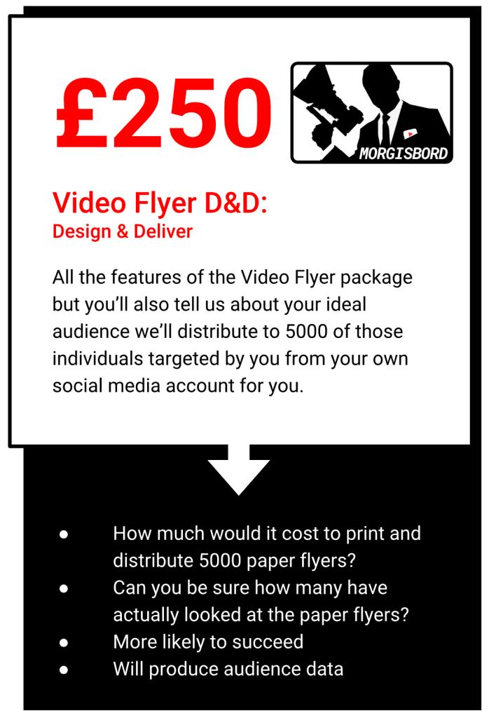 Video Flyer DnD