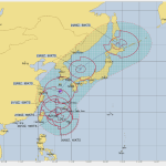 台風17号進路予想を米軍とヨーロッパで比較!関東への影響も調査