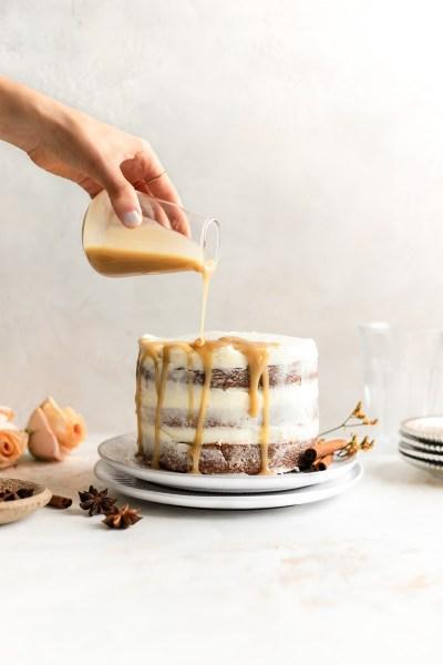 Grain Free Tahini Spice Cake (Paleo)