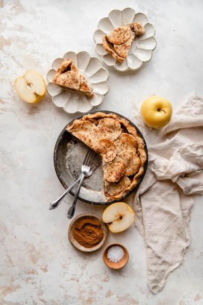 Gluten-Free Salted Caramel Apple Pie (Paleo)