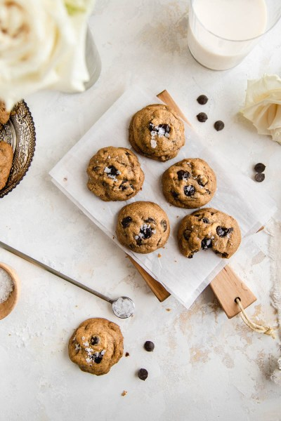 Spiced Chocolate Chip Cookies (Grain-Free)