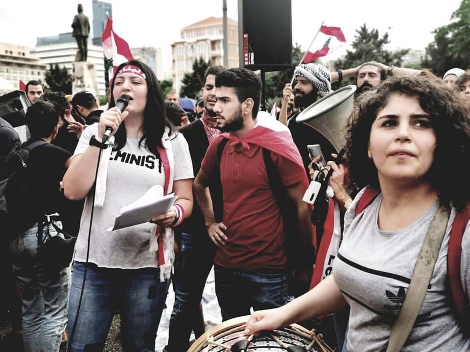 الخطاب النسوي علا في الانتفاضة