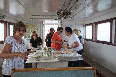2018 Sunset Cruise - food