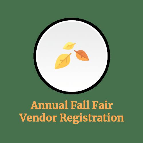 Annual Fall Fair Vendor Registration