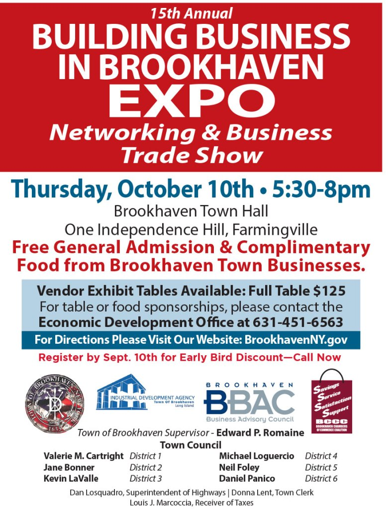 2019 Building Business in Brookhaven Expo