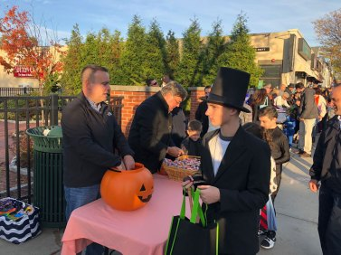 March of the Goblins, Halloween, Center Moriches: politicians