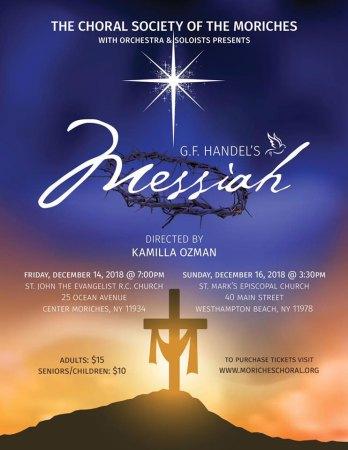 Handel's Messiah Concert @ St. John the Evangelist RC Church | Center Moriches | New York | United States