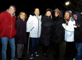 Board of Directors at 2018 Moriches Chamber tree lighting