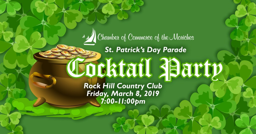 2019 St. Patrick's Day Parade Cocktail Party