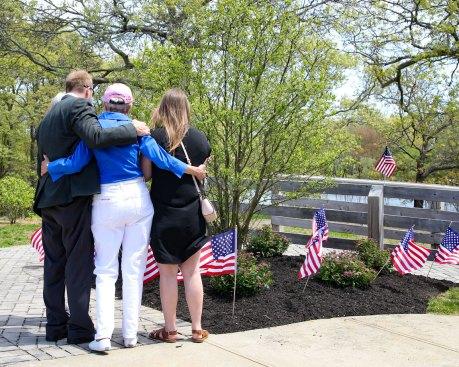 Major Andy O'Keeffe tree memorial - 17
