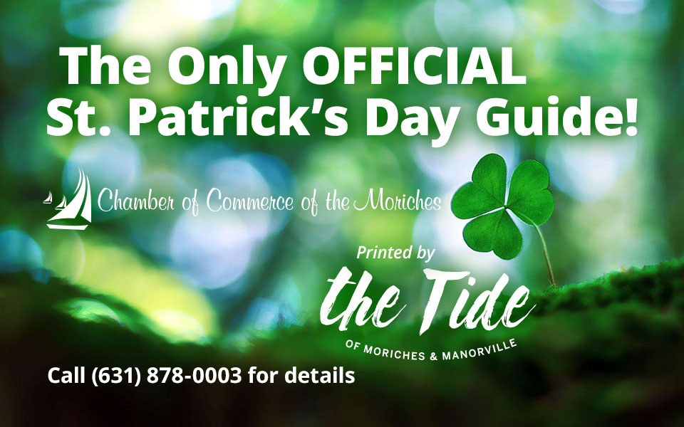 Advertise in the Only OFFICIAL St. Patrick's Day Guide for 2020