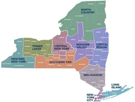 NYFLF map