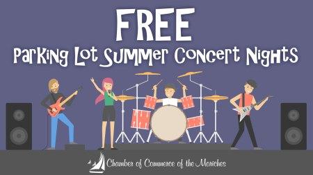Free Parking Lot Summer Concert Series