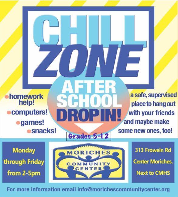After School Drop In Flyer