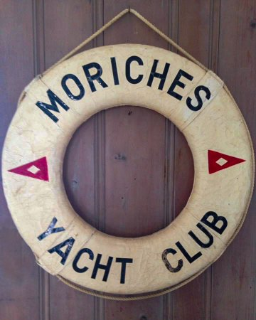 Moriches Yacht Club life ring