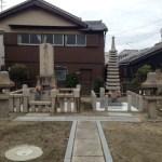喜左衛門記念碑と伝和泉式部供養塔