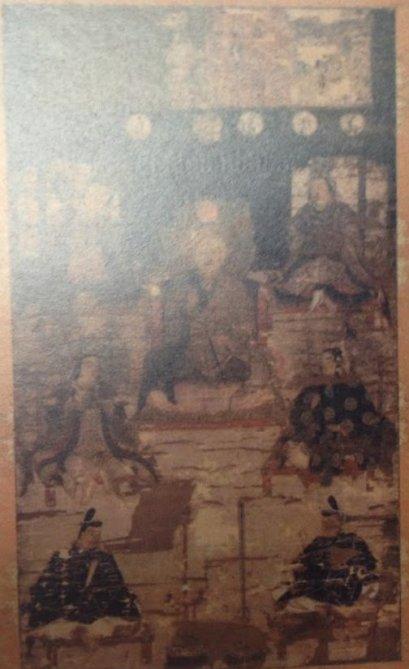 八幡曼荼羅画像