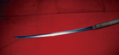 守居神社の宝刀
