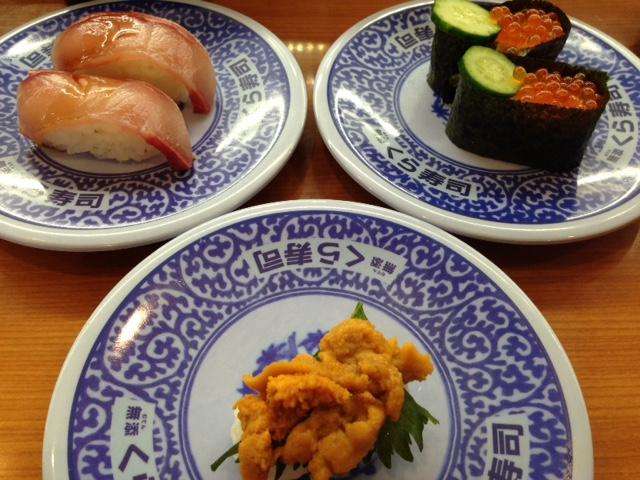 くら寿司お寿司