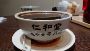 台灣仁和堂龜苓膏-熱-大碗