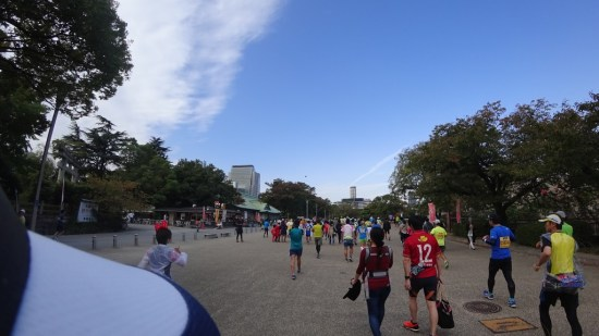 大阪マラソン 移動2