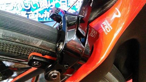 DOGMA F10 ブレーキ