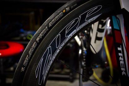 0.3km/h速く走るためのタイヤ空気圧設定。 「乗り手の好み」、「タイヤの種類」、「他のパーツとの相性」