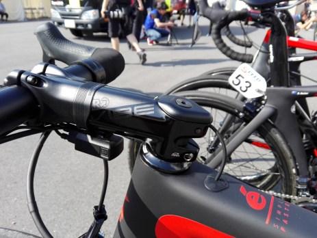 【プロバイク機材レポート】2017年ツアー・オブ・ジャパンVol.2 アイソウェイ・スポーツ・スイスウェルネス S5 ハンドル