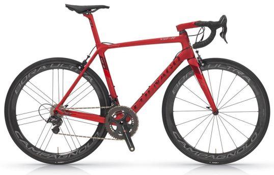 【2018年モデル】コルナゴ『V2-R』。空力、ディテールを改善し、更なる高みを目指した軽量エアロロードバイク。 マットレッド