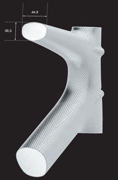 【2018年モデル】LOOK『785 HUEZ RS』。カーボン技術の粋を集めた超軽量フレーム。 0.6mm