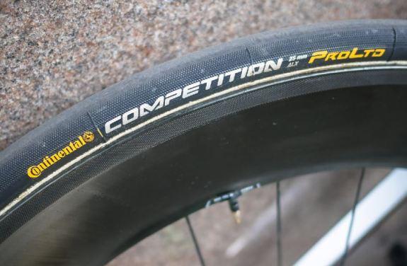 タイヤ:Continetal「Competition ProLTD 25mm」 ツールを去ることになったガヴェンディッシュは、どんな機材で戦っていたのか?
