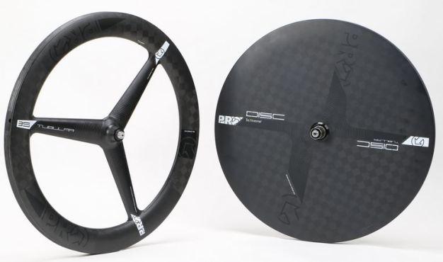 PRO 3-Spoke Wheel、TeXtream Carbon Disc Textream(テクストリーム)カーボン
