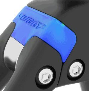 『cento 10 NDR』の後ろ三角は「快適性」 【2018年モデル】Wilier『cento 10 NDR』。振動吸収Actiflexを搭載したレーシングコンフォートバイク。 『cento 10 NDR』の前三角 カムテール actiflex エラストマー
