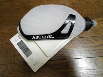 Arundel「Crono 2」 アランデル エアロボトル 実測重量