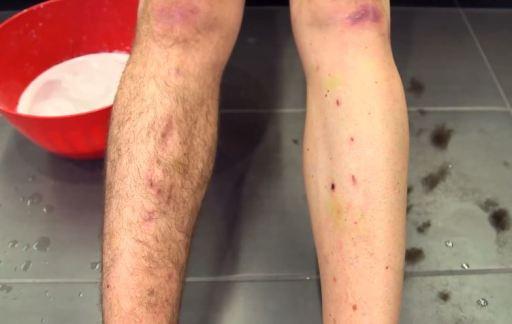 【速く走るためのエアロ効果・風洞実験①】身体各部の毛を無くすと? 脚の毛