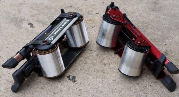 【インプレ】世界最小のローラー台ブラックバーン『Raceday Portable Trainer』 blackburn レースデイポータブルトレイナー feedback 比較