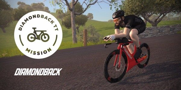 Diamondback TT Mission zwift ズイフト