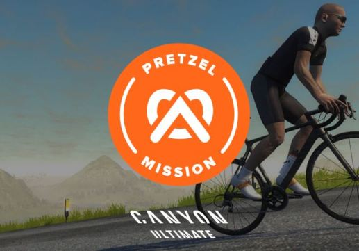 Canyon Ultimate Pretzel Mission zwift ズイフト