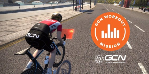 GCN Workout Mission zwift ズイフト