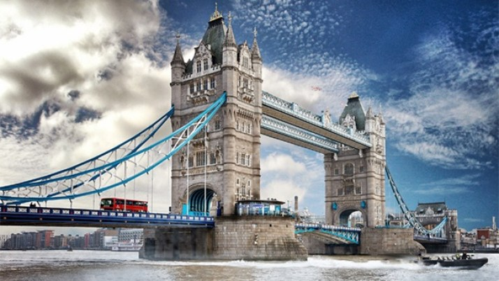 ZWIFT ズイフト ロンドン タワー・ブリッジ
