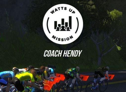 Watts Up Mission zwift ズイフト