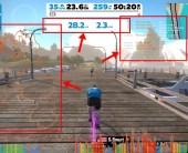 【ZWIFT(ズイフト)】コース全体マップを画面に表示させる方法