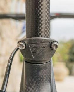 【2019年モデル】TIME『Alpe d'Huez Ulteam』。タイムが織り成すクライミングバイク。 シートポストD型