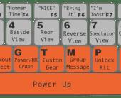 ZWIFT ズイフト キーボードからの操作キー一覧