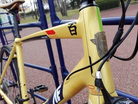 AE社製『百式アルミ(RB-ALHY01)』 ガンダム ロードバイク インプレッション 感想 乗車レビュー