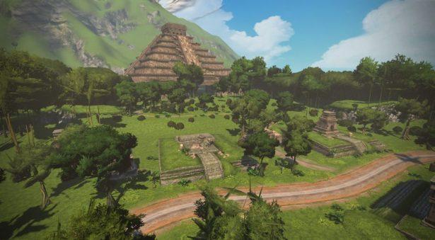 ZWIFT(ズイフト)の全ジャージ獲得方法一覧 ワトピアの「Epic KOM」 リーダージャージ マヤ遺跡 ピラミッド